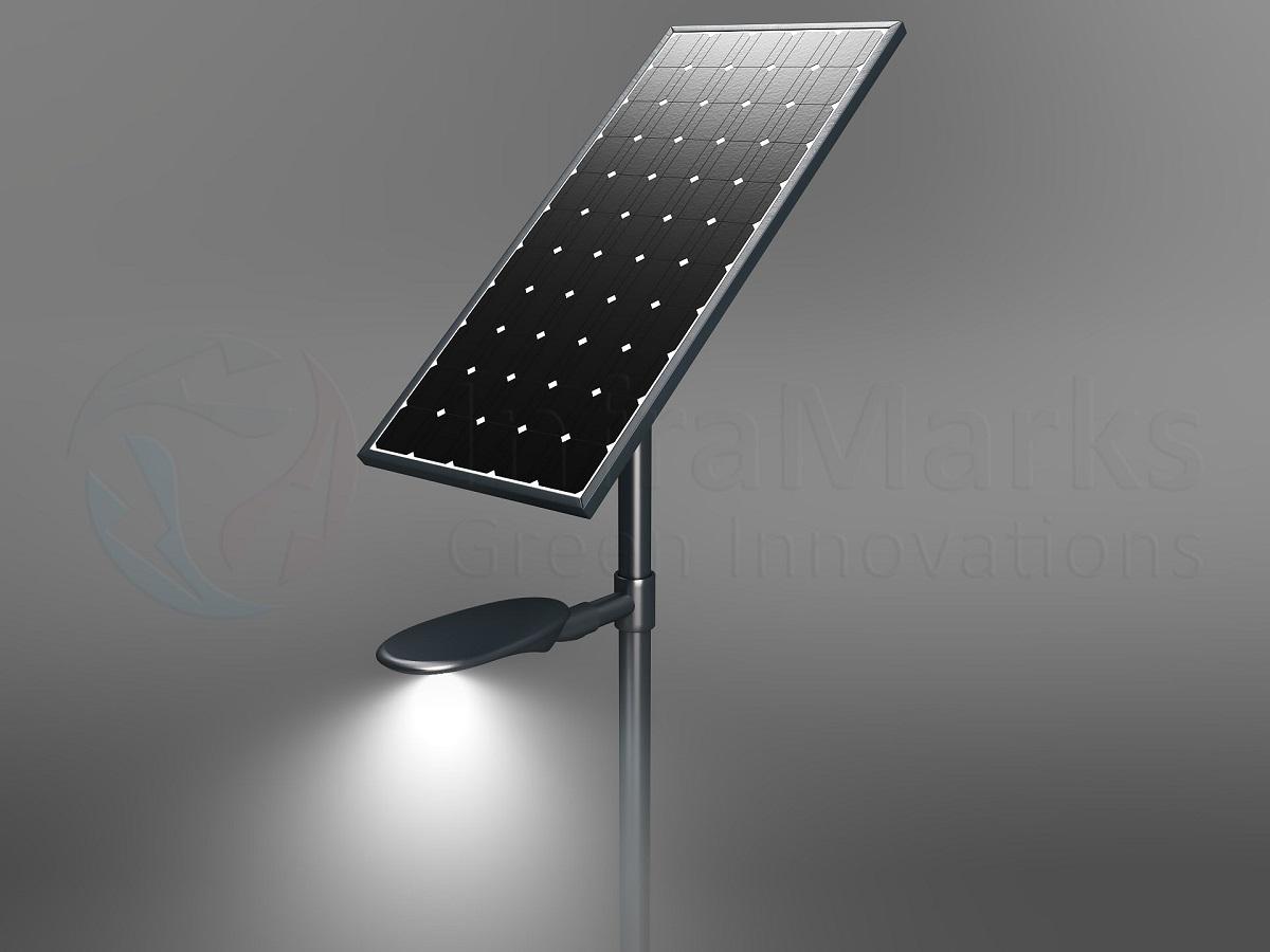 Solar-Lichtmast-SMD-Bovenaanzicht
