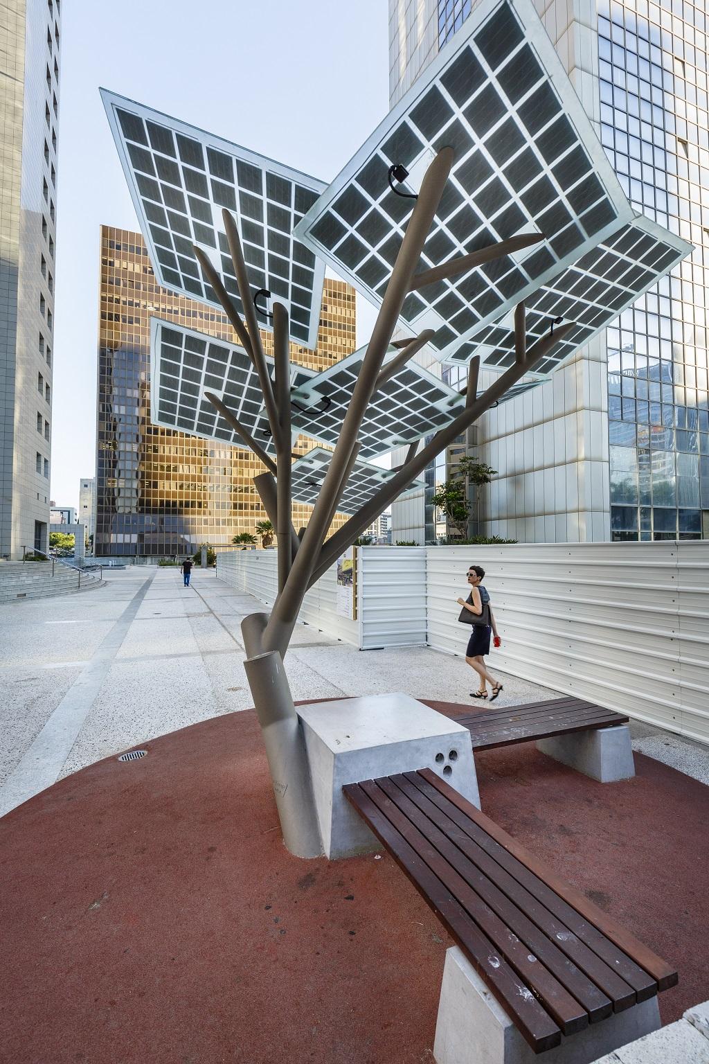 Solar tree - Zonneboom