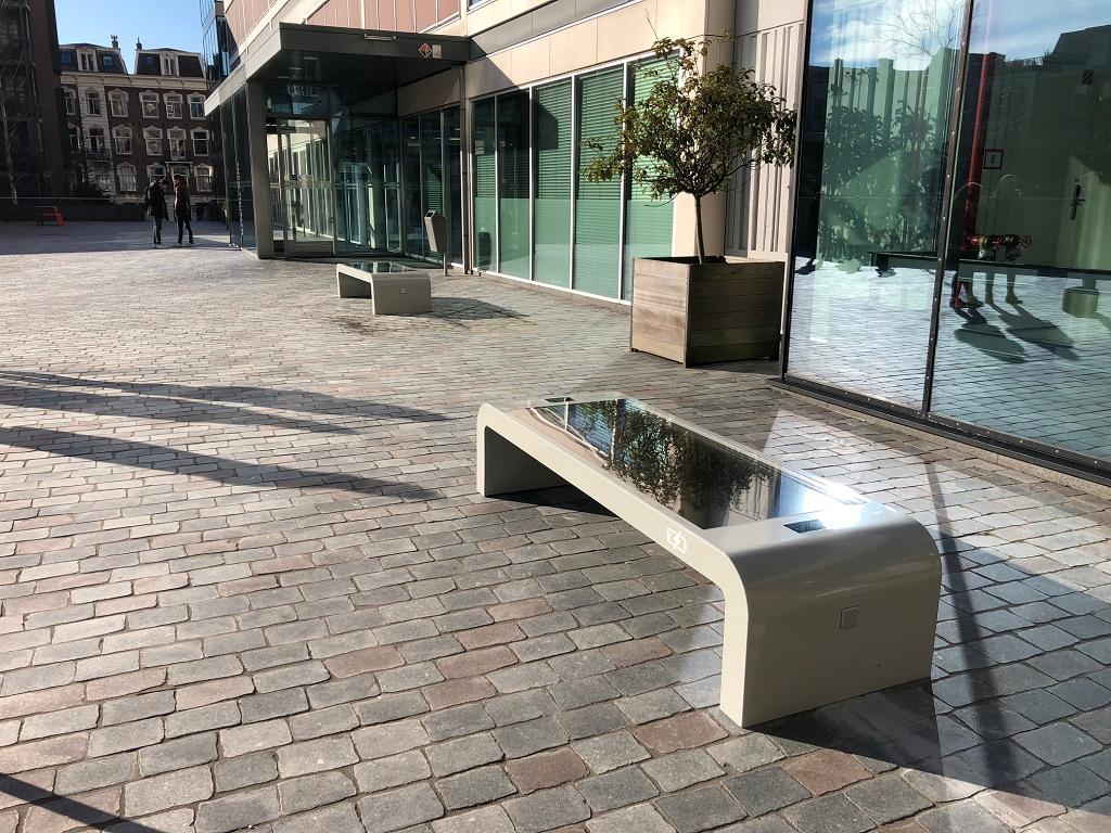 Solar bench university