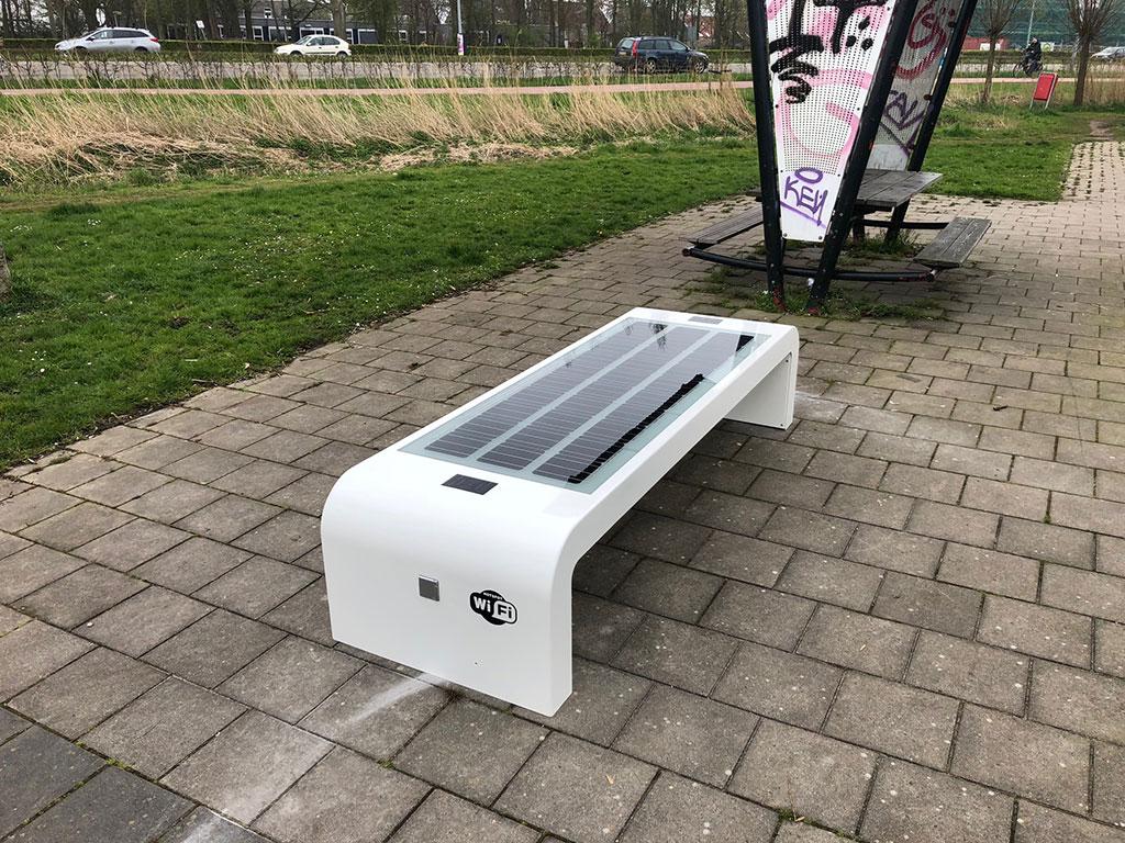 Solar bench InfraMarks