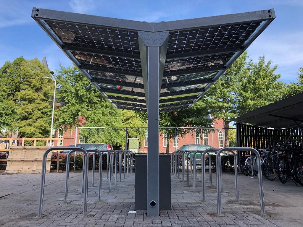 Solar fietsenstalling