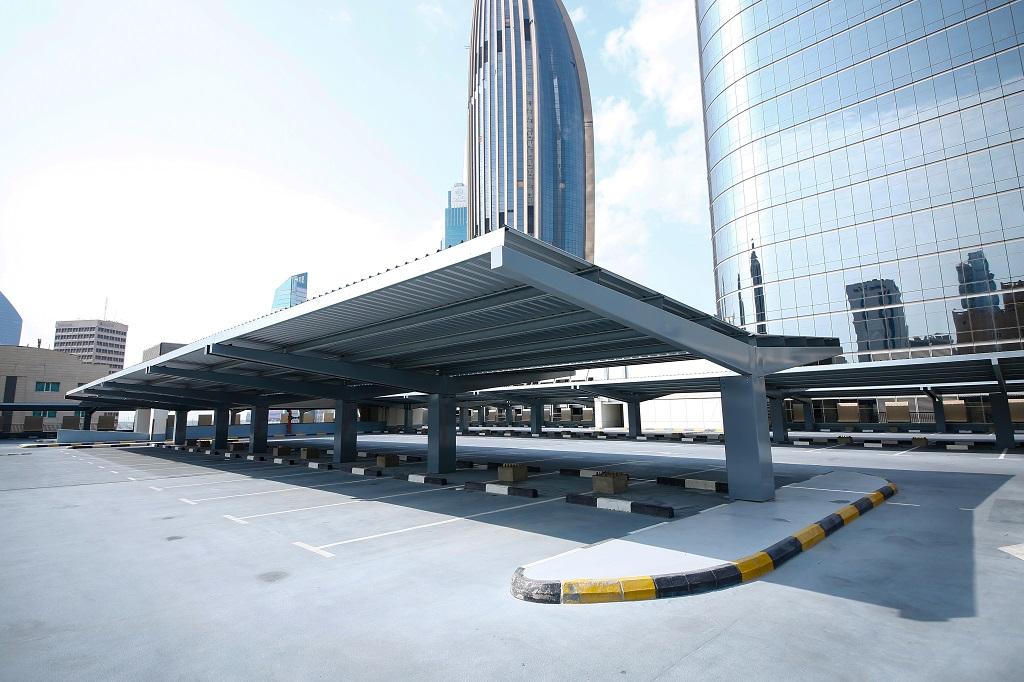 solar parking garage