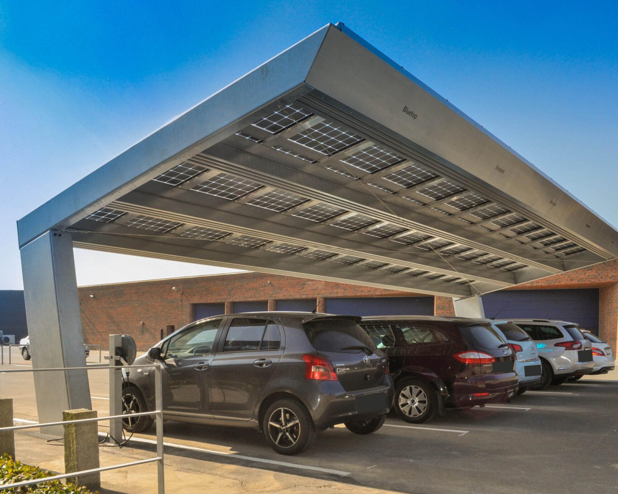 Solar parking overdekte Europese Commissie