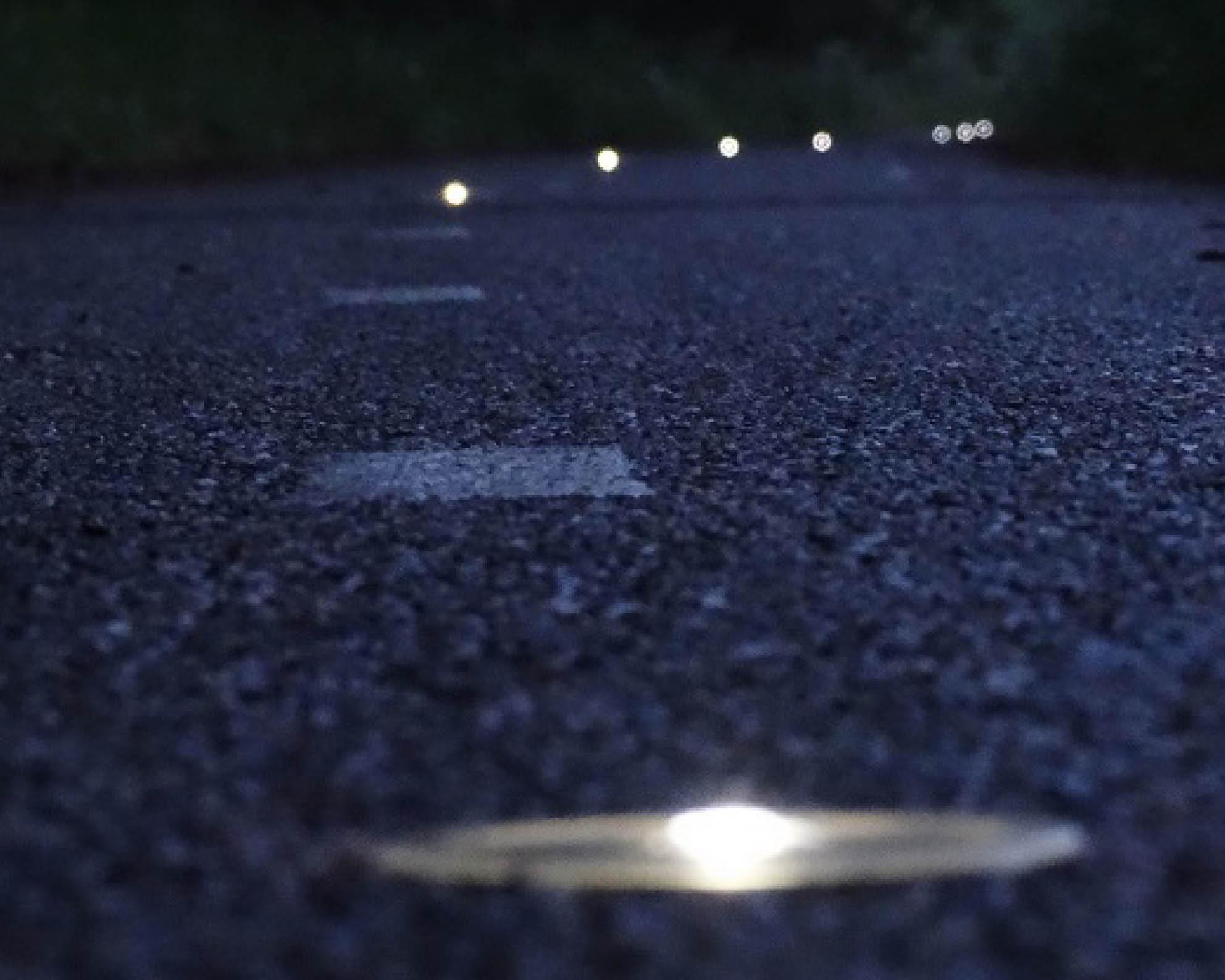 InfraMarks wegdekverlichting