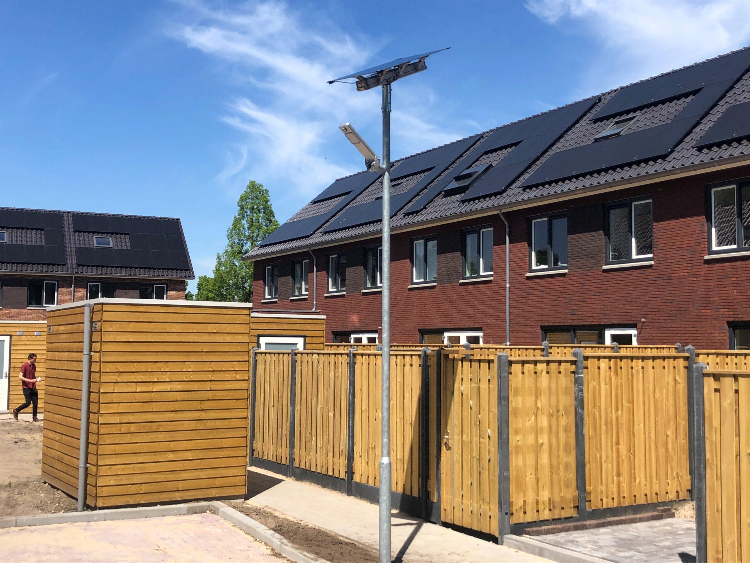 Straatverlichting zonne-energie